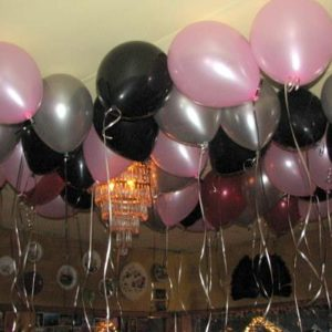 Birthday Balloon Ceiling Treatment