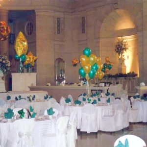 Green and Gold Bar Mitzvah