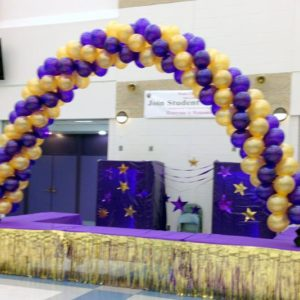 Homecoming Spiral Arch