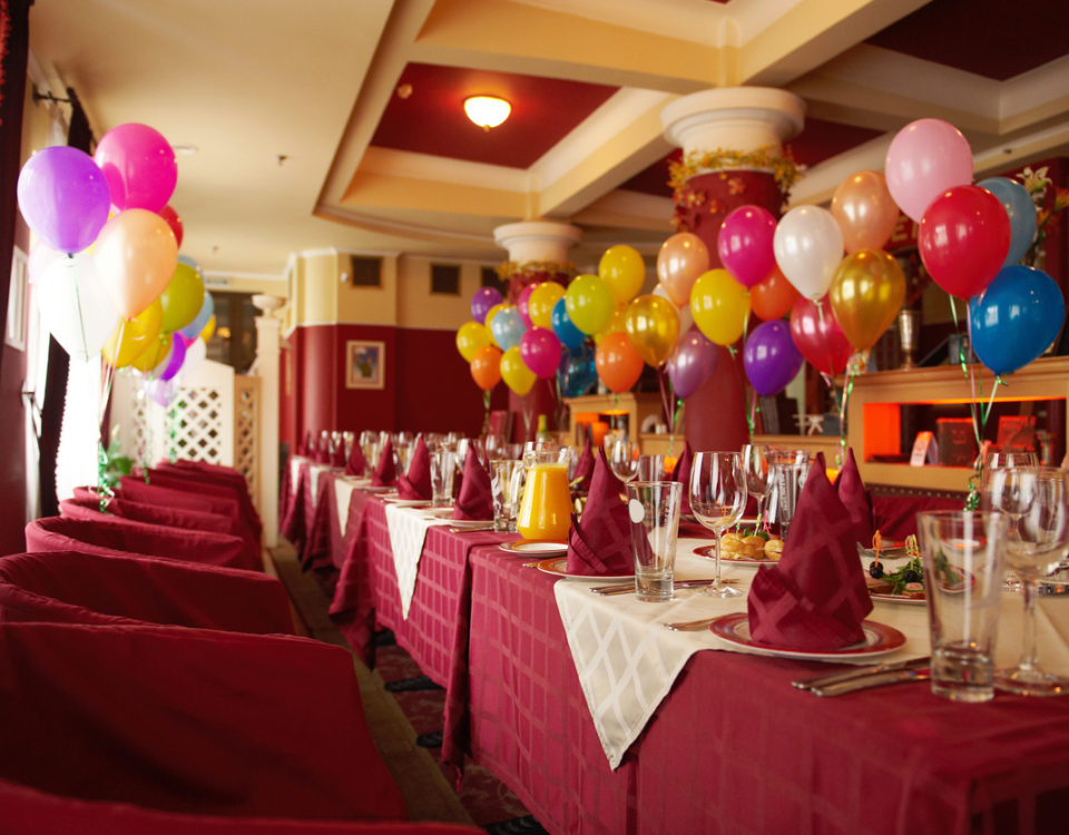 Celebrations-Banquet Balloons on a Budget